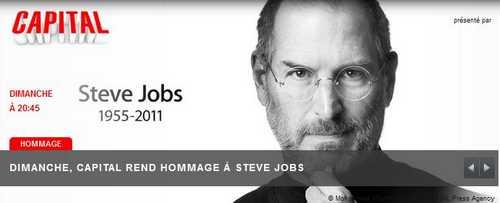capitalstevejobs M6 rend hommage à Steve Jobs dans Capital