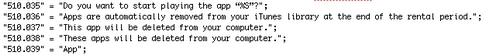 code Vers une location des applications iPhone et iPad ?