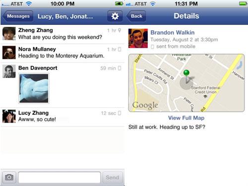 fbmessenger Lapplication Facebook Messenger enfin disponible en France