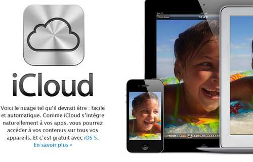 icloud Apple peut avoir accès à vos données iCloud