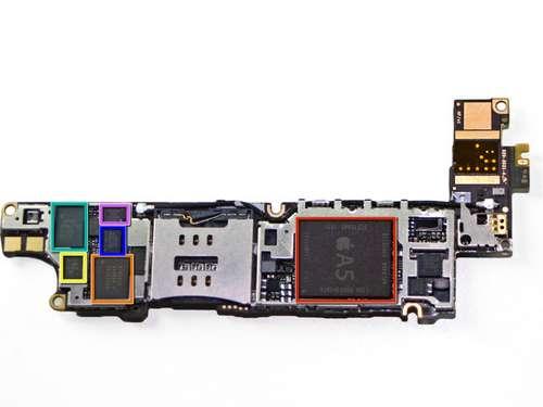 iphone4s31 LiPhone 4S déshabillé par iFixit