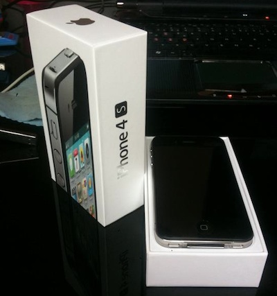 iphone4s d1 zustellung Un propriétaire allemand reçoit son iPhone 4S