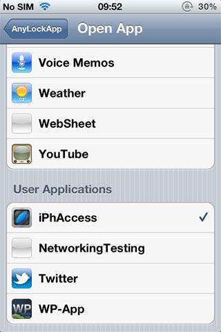 openapp AnyLockApp lance lapplication de votre choix depuis le LockScreen