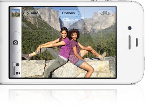 overview camera Tim Cook présente liPhone 4S et liOS 5