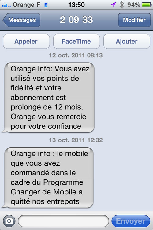 photo 21 Apple et Orange expédient les premiers iPhones 4S ! [MAJ]