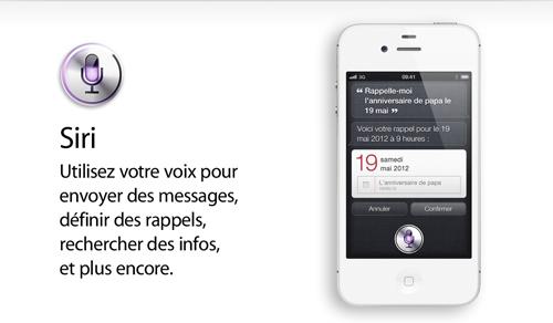 siri Les hackeurs travaillent sur le portage de Siri sur les vieux appareils