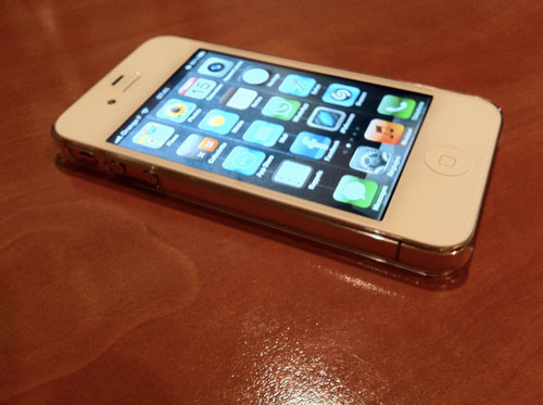 221 ZERO 5 : La coque la plus fine du monde pour iPhone 4 / 4S : 0.5 mm [PROMO]