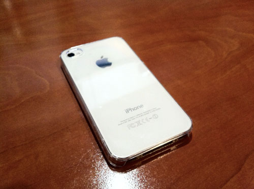 331 ZERO 5 : La coque la plus fine du monde pour iPhone 4 / 4S : 0.5 mm [PROMO]