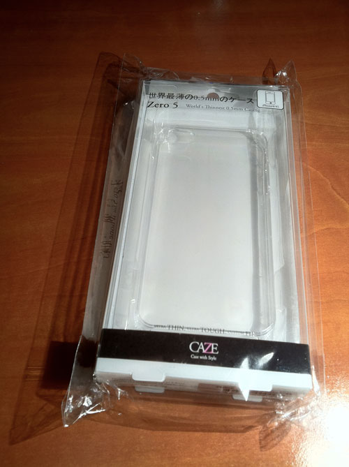 3 WEB ZERO 5 : La coque la plus fine du monde pour iPhone 4 / 4S : 0.5 mm [PROMO]