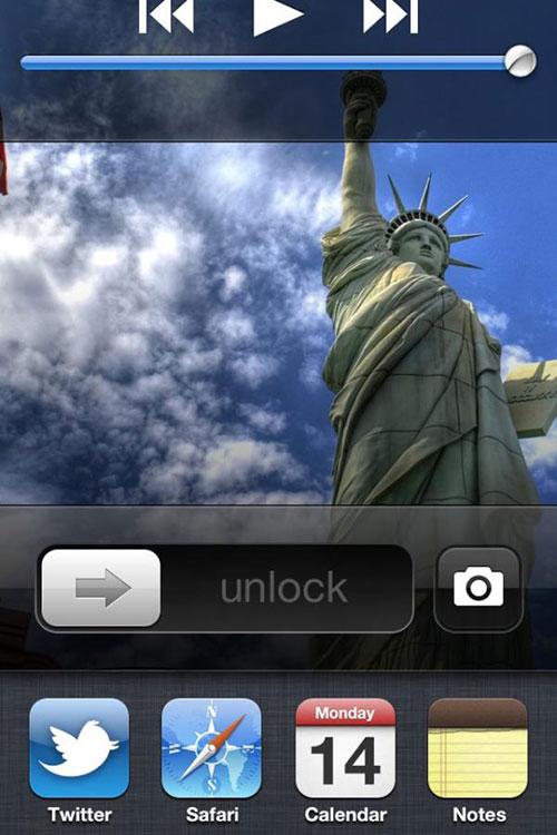 LockScreen Multitasking iPh Cydia : LockScreen Multitasking passe en version 1.1