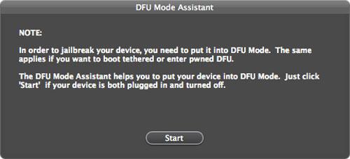 dfu Ac1dSn0w est disponible : jailbreak tethered iOS 5.0 / 5.0.1