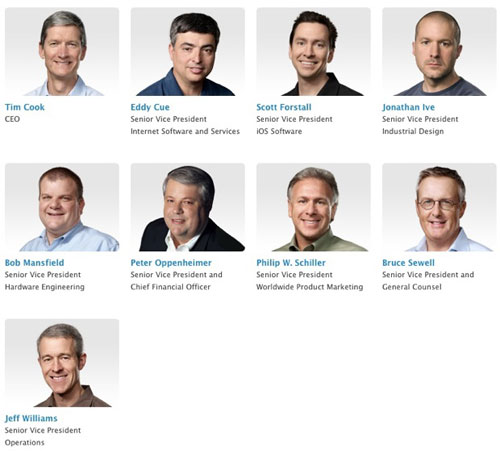 dirigeantapple Apple incite ses grands dirigeants à rester