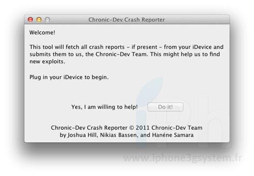 gpoisoniPH La Chronic Dev Team explique comment les aider pour le jailbreak diOS 5