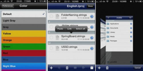 ifile [CYDIA] Liste des tweaks compatibles iOS 5.1.1