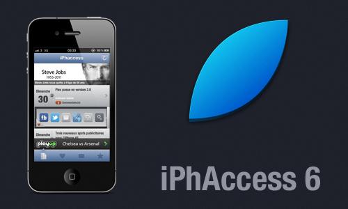 iphaccess iPhAccess 6.0.2 disponible sur lApp Store