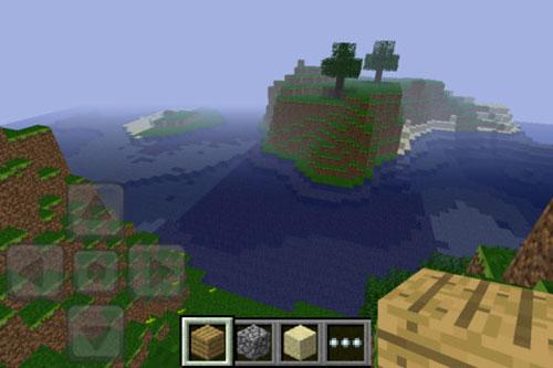 iphone minecraft 1 Minecraft Pocket Edition pour iPhone disponible [MAJ]