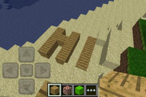 iphone minecraft 2 Minecraft Pocket Edition pour iPhone disponible [MAJ]