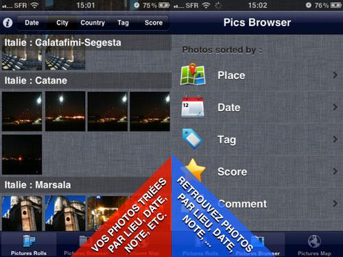 myphotos1 MyPhotos, lalbum photo intelligent sur votre iPhone