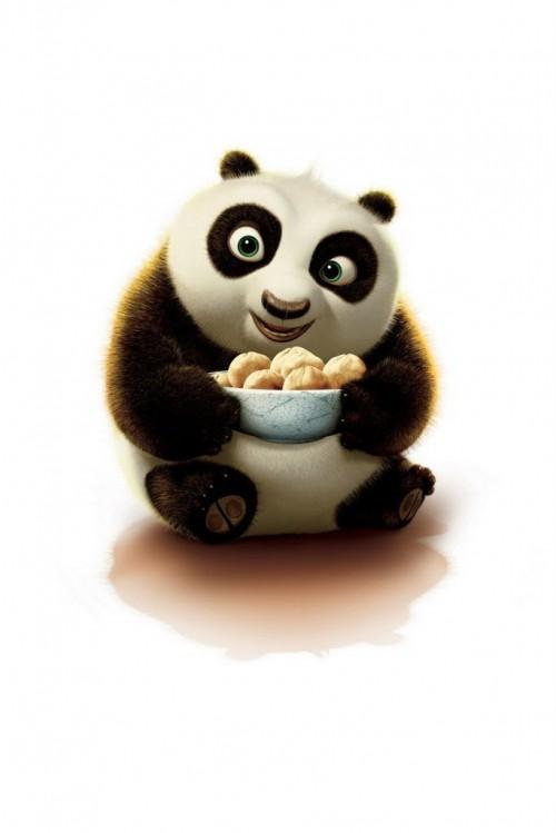 panda 500x749 Les 3 Wallpapers iPhone du jour