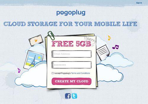 pogoplug Pogoplug : Un nouveau service de stockage en ligne