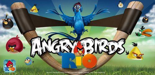 real rio Angry Bird Rio intègre 15 nouveaux niveaux