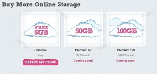 tarifs 500x237 Pogoplug : Un nouveau service de stockage en ligne