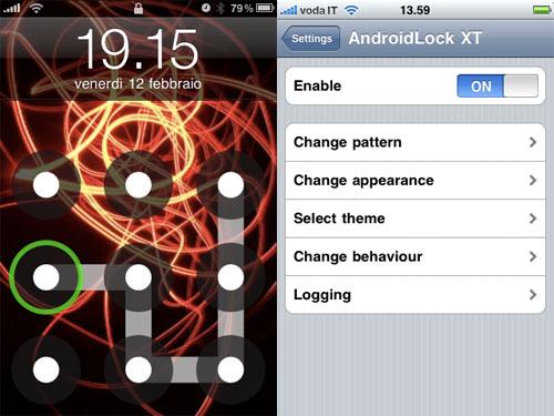 androidlockwt Cydia : AndroidLock XT passe en version 2.6.1