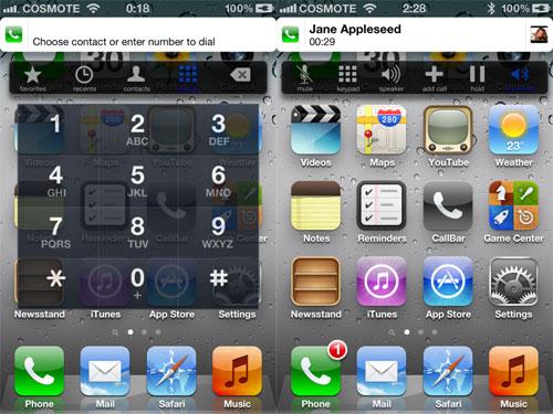 callbarmaj Cydia : CallBar7 pour iOS 7 de retour le 18 juillet prochain !
