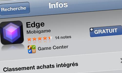 edge EDGE est gratuit pour un temps limité
