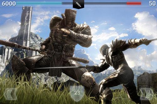 infi2 Première mise à jour pour Infinity Blade   