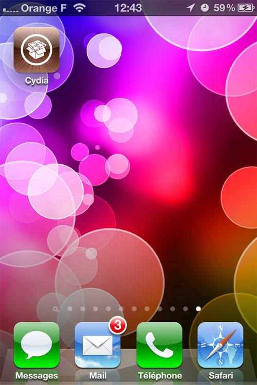 jailbreak untethered windows 7 013 Jailbreak Untethered pour iPhone sous iOS 5.0.1 avec Windows