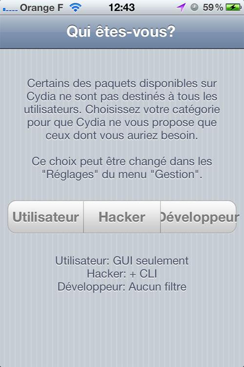 jailbreak untethered windows 7 0141 Jailbreak Untethered pour iPhone sous iOS 5.0.1 avec Windows