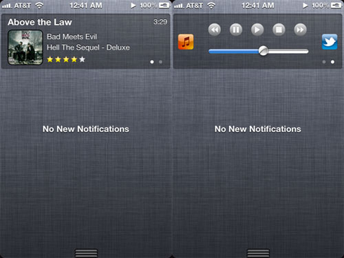 musiccenter Cydia : MusicCenter for Notification Center passe en version 2.4 [CRACK]