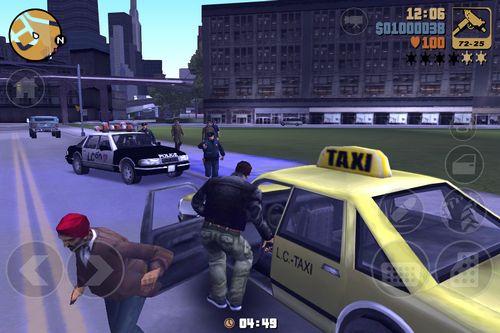 mzl.huzyclnn Grand Theft Auto III disponible sur lApp Store