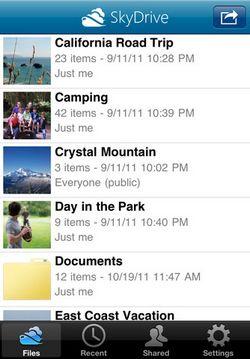 mzl.pfbrgijc Microsoft lance lapplication SkyDrive pour iOS