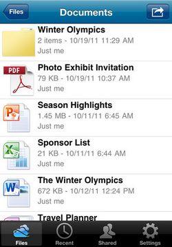 mzl.wzqgjuwa Microsoft lance lapplication SkyDrive pour iOS