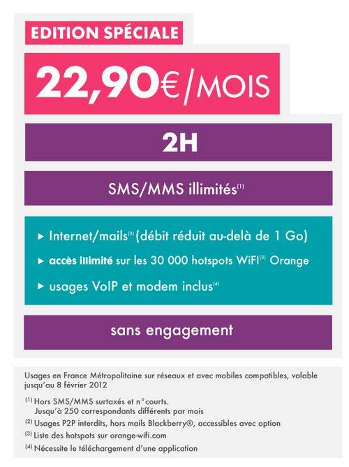 original SOSH lance les forfaits à 22€90/mois