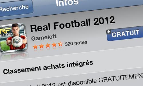 real football 2012 Real Football 2012 gratuit aujourdhui seulement