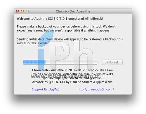 3 TUTO Jailbreak Untethered iPhone 4S / iPad 2 iOS 5.0 / 5.0.1