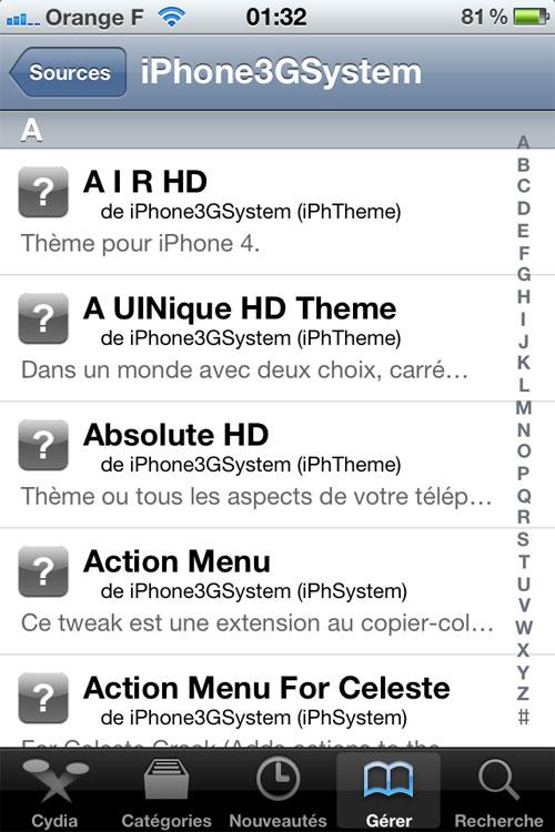 31 Nouvelle adresse pour le repo iPhone3GSystem