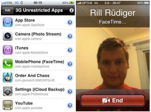 3G Unrestrictor 5 iPhone 2 414x307 [CYDIA] Liste des tweaks compatibles iOS 5.1.1