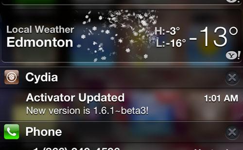41044f13de90cf7d2 Cydia : CydiaBulletin, recevoir les mises à jour de paquet en notification