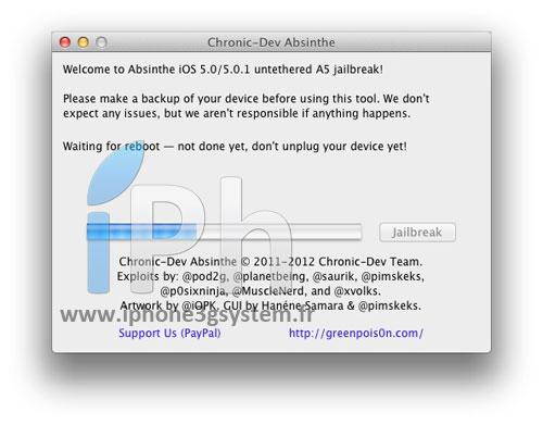6 TUTO Jailbreak Untethered iPhone 4S / iPad 2 iOS 5.0 / 5.0.1