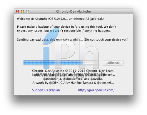 8 TUTO Jailbreak Untethered iPhone 4S / iPad 2 iOS 5.0 / 5.0.1