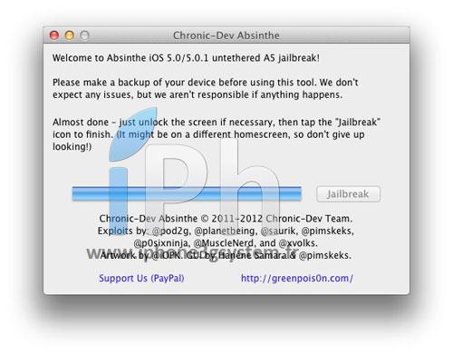 9 TUTO Jailbreak Untethered iPhone 4S / iPad 2 iOS 5.0 / 5.0.1