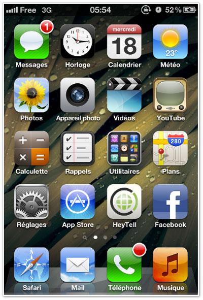 FreeMobile Configurer votre iPhone pour Free Mobile