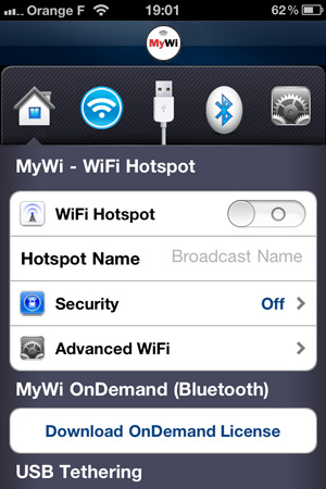 MyWi 5 MyWi passe en version 5.05.4 beta