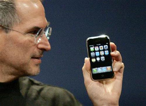 Steve Jobs iPhone Photo LiPhone, déjà 5 ans !