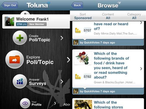 Toluna1 Toluna et le sondage devient social