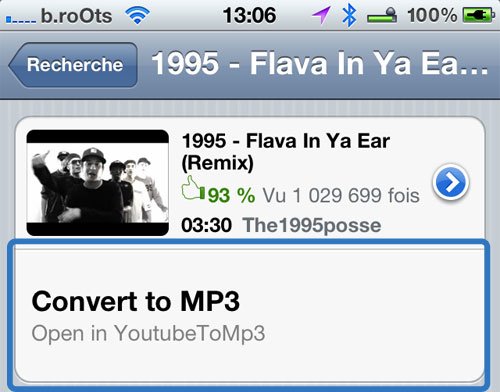 Youtubetomp3 plugin iph Cydia : YoutubeToMp3 Plugin, ajoutez un bouton Convert dans lapp Youtube